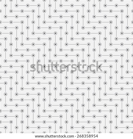 Seamless pattern. Classical diagonal texture in the form of waves. Repeating geometrical shapes. Lines, points, circles. Monochrome. Backdrop. Web. Vector illustration for your design