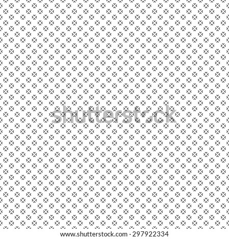Seamless pattern. Classical small textured background. Texture with regularly repeating geometrical elements, shapes, diamonds, rhombuses. Vector element of graphic design - stock vector