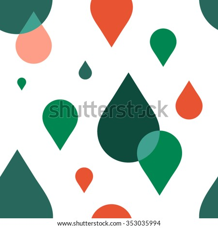 Seamless pattern.Colorful modern geometric abstract background template with designed ornament shapes. Vector abstraction beautiful illustration with place for your text. Poster, business card. - stock vector