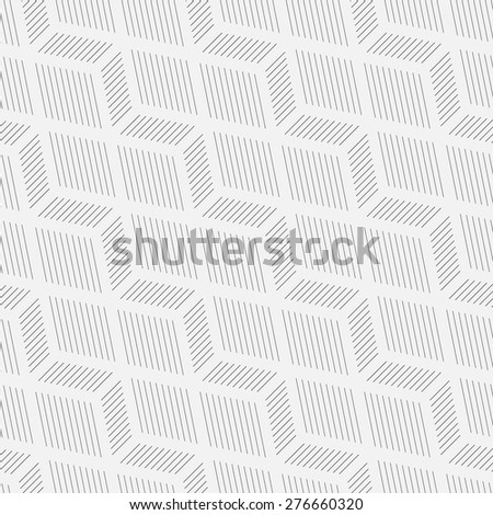 Seamless pattern. Creative elegant geometric texture with thin lines. Repeating diagonal hexagons, lines. Monochrome. Backdrop. Web. Vector element of graphic design for your project - stock vector