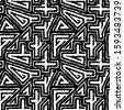 seamless pattern. ethnic mosaic....