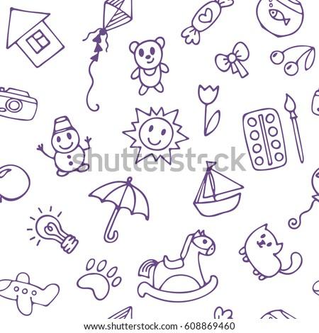 Skokan olena 39 s portfolio on shutterstock for Cute little doodles to draw