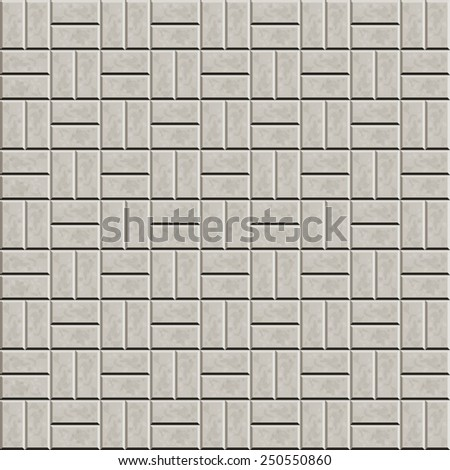 Seamless pattern for decoration and design tile floor. Vector illustration - stock vector