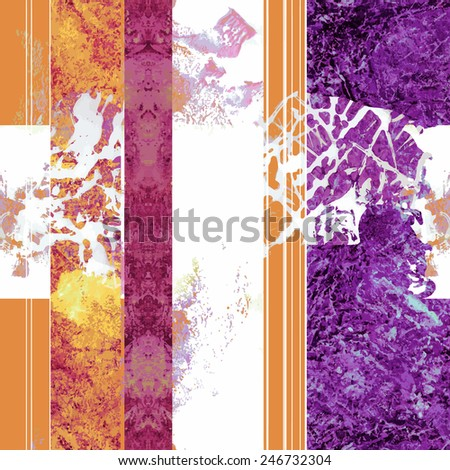 Seamless pattern for textile printing - stock vector
