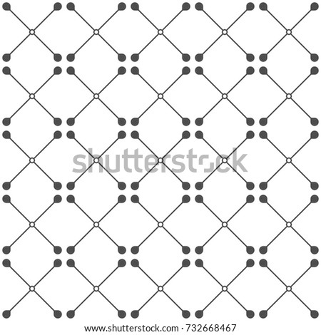 Seamless pattern. Geometric background. Vector illustration. Good quality. Good design.
