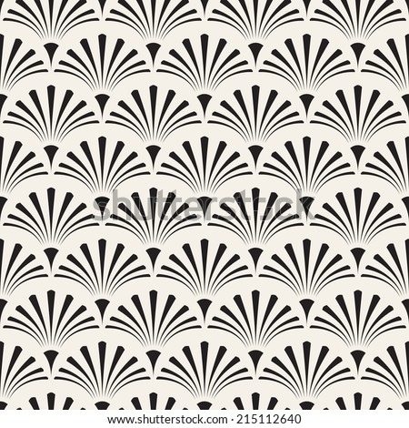 Seamless pattern. Geometric regular ornament. Vector repeating texture