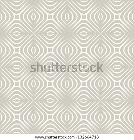 Seamless pattern. Geometric stylish background. Vector delicate texture - stock vector