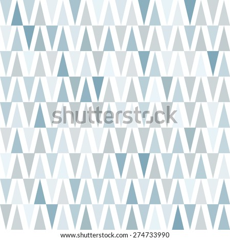 Seamless pattern. Geometric vector background - stock vector