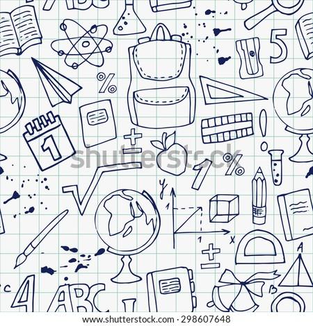 School Drawing Drawing of School Supplies