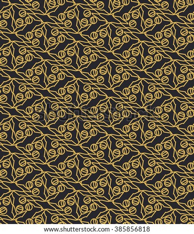 Seamless pattern in Arabic style.Seamless abstract geometric background.
