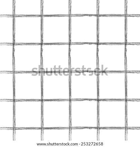 seamless pattern in gray cell - stock vector