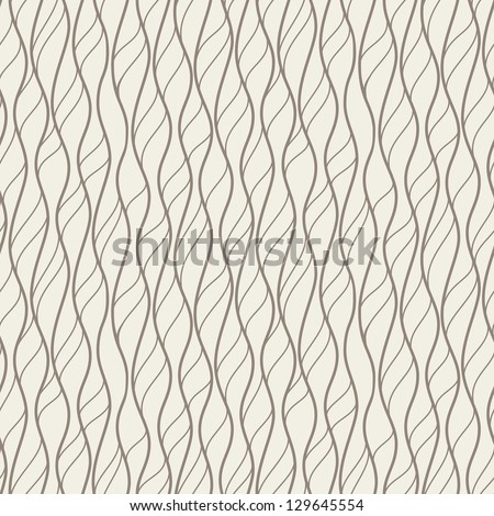Seamless pattern. Irregular abstract grid texture. Linear background - stock vector