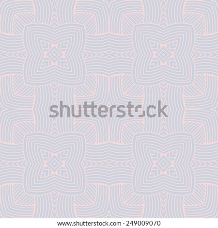 Seamless pattern. Light mosaic vector background - stock vector