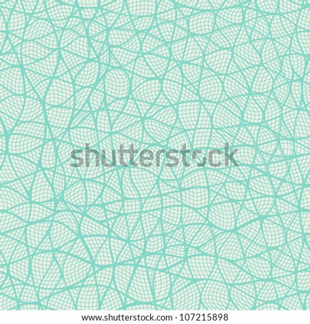 Seamless pattern looks like interweaving of the lines. Textured yarn close-up. Seamless pattern can be used for wallpaper, pattern fills, web page background,surface textures. Wave background. - stock vector