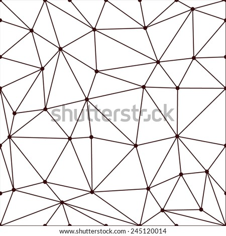 seamless pattern made from polygons - stock vector