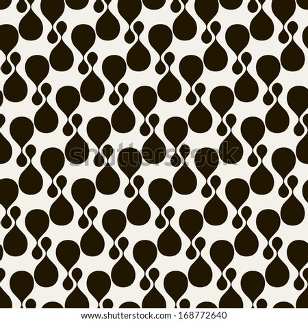 Seamless pattern. Modern stylish texture. Repeating abstract background - stock vector