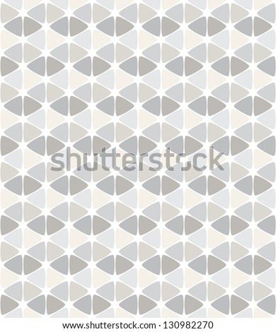 Seamless pattern. Modern stylish texture. Repeating abstract background with smooth triangles - stock vector