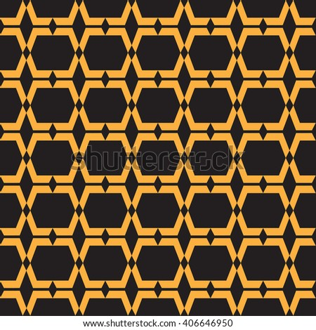 Seamless pattern modern stylish texture. repeating pattern.  - stock vector