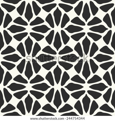 Seamless pattern. Modern stylish texture. Textile abstract background. - stock vector