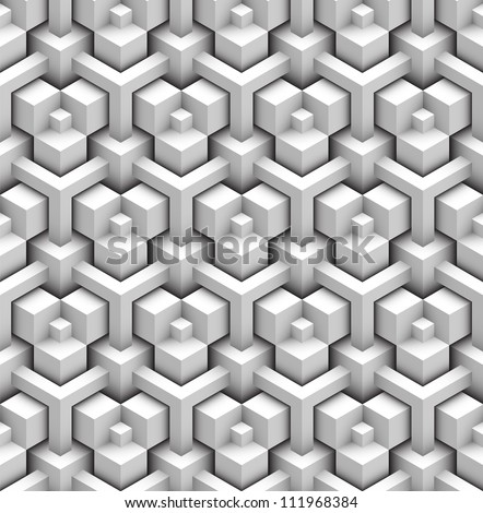 seamless pattern of blocks - stock vector
