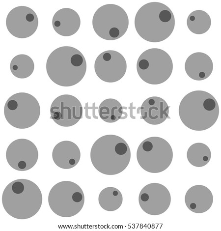 Seamless pattern of circles. Abstract background. Good design.