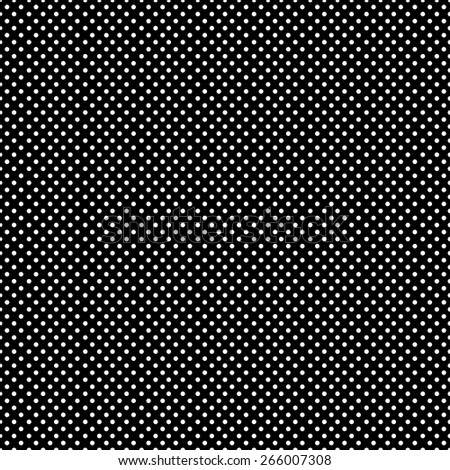 Seamless pattern of colorful polka dot in a small stylish in beautiful colors black and white