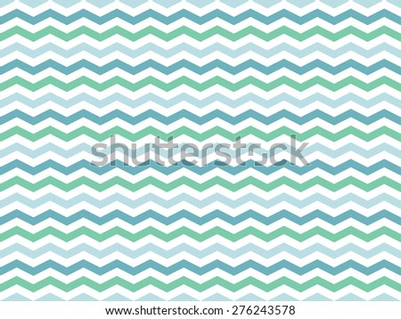Seamless pattern of colorful waves - stock vector
