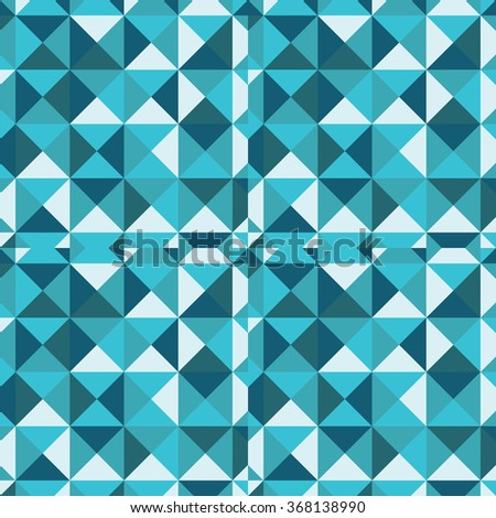 Seamless Pattern of geometric shapes
