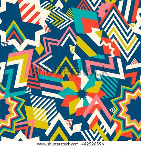 seamless pattern geometric shapesgeometric abstract
