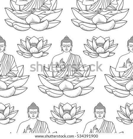 fat buddah coloring pages - photo#33