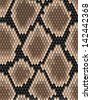 Seamless pattern of snake skin for background design. Jpeg version also available in gallery  - stock vector