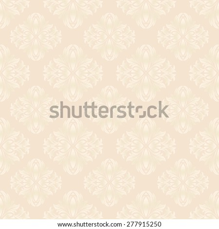 seamless pattern or vintage background - stock vector