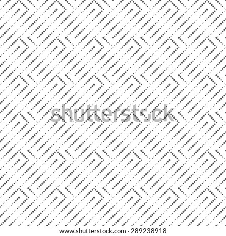 Seamless pattern. Original stylish texture with small dots. Regularly repeating geometrical elements, shapes, dots, dotted lines, zigzags. Monochrome. Backdrop. Web. Vector element of graphic design - stock vector