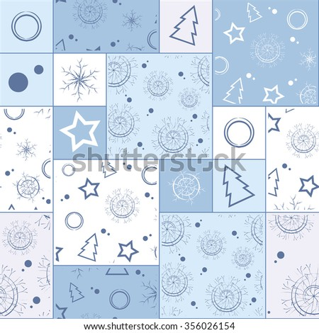 seamless pattern patchwork