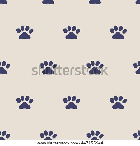 seamless pattern,paw art  background design for fabric and decor