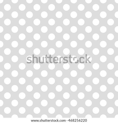 Seamless Pattern Pois Dot Pattern Background Stock Vector HD ...