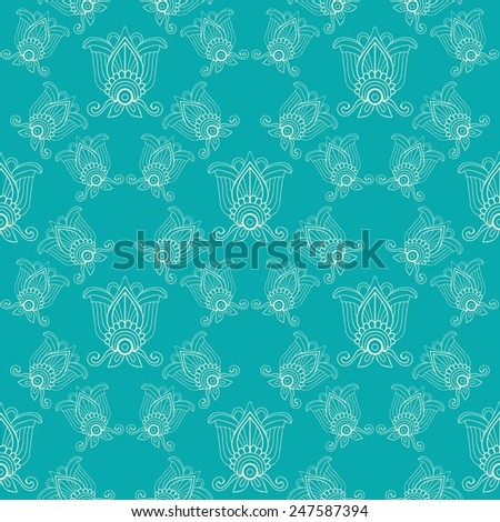 Seamless pattern. Ready to use - just drag and drop to your swatch panel. - stock vector