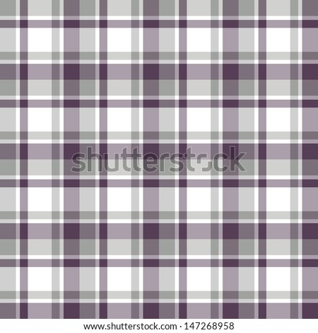 Seamless pattern Scottish cage - stock vector