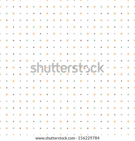 Seamless pattern. Small square mosaic. Texture with squares - stock vector