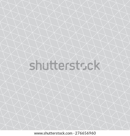 Seamless pattern. Stylish diagonal texture with the repeating polygons, hexagons, rhombuses. Monochrome. Backdrop. Web.  Vector element of graphic design for your project - stock vector