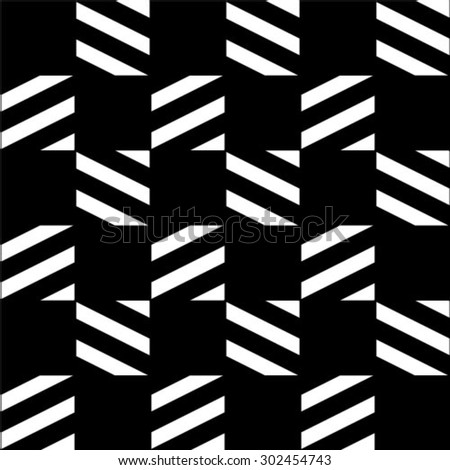 Seamless pattern. Stylish geometric texture. Repeating lines.