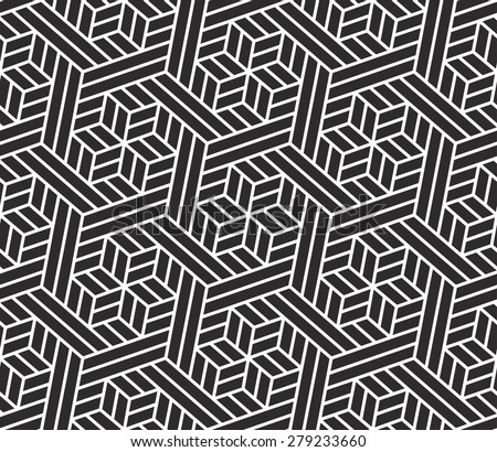 Seamless  pattern. Stylish texture with repeating light and dark straight lines.