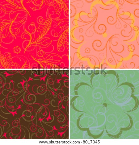 seamless pattern swatch vector