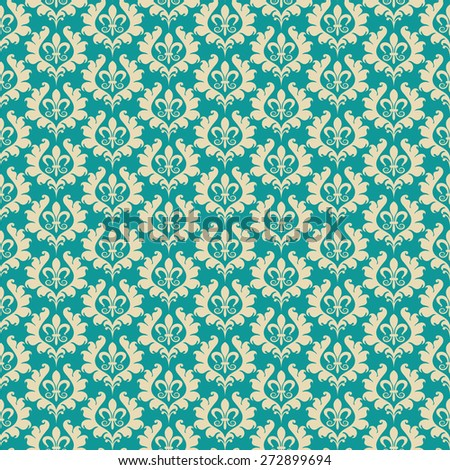 Seamless pattern. Template Background. Modern Wallpaper for your design. Image texture. Vintage style. For design of cards, invitations, book, web design, wallpapers for walls. Vector - stock vector