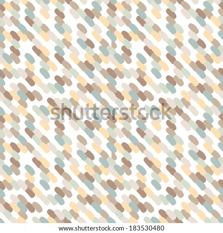 Seamless pattern. Vector background with pastel smears. Delicate fine texture - stock vector