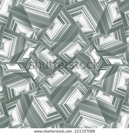 Seamless Pattern Vector 128 - Modern stylish texture. Repeating geometric tiles. - stock vector