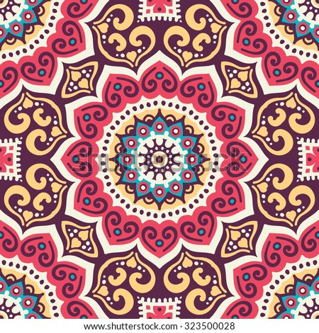 Bohemian Pattern Stock Images Royalty Free Images