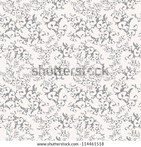 Seamless pattern. Vintage vector background - stock vector