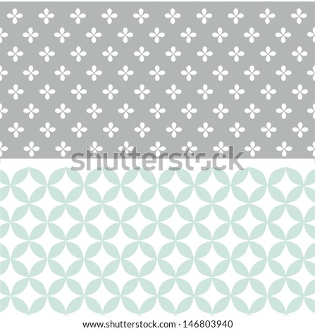 Seamless pattern, wallpaper - stock vector