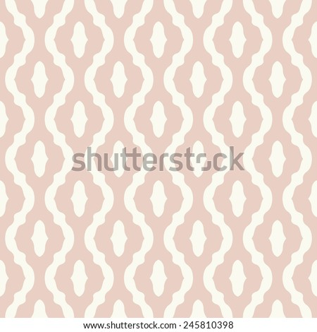 Seamless pattern with abstract geometric design, endless fabric print. - stock vector